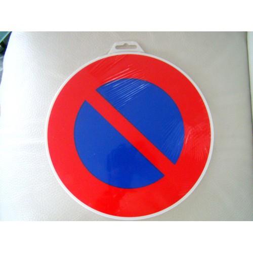 panneau de signalisation stationnement interdit d 30 cm plastique neuf. Black Bedroom Furniture Sets. Home Design Ideas