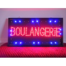 panneau led lumineux clignotant boulangerie commerce achat et vente. Black Bedroom Furniture Sets. Home Design Ideas