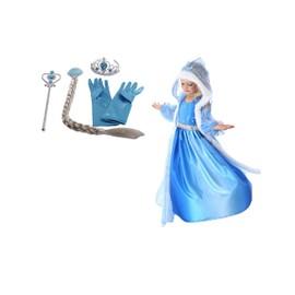 Panoplie robe elsa la reine des neiges achat et vente - Robe elsa reine des neiges ...