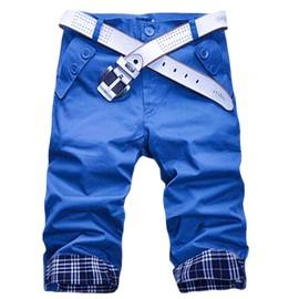Pantacourt homme casual pantalon court a carreaux urbain classique look branch styl tendance Vetement tendance pantalon fashion style militaire