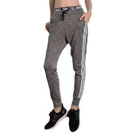 Sport Femme Pantalon De Fitness Yoga Haute Couleur Unie Running Taille 4j5ALR
