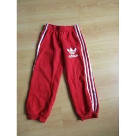 1528b1b0901d6 Pantalon De Survêtement Adidas Rouge Taille 5 Ans À - 58% - Rakuten
