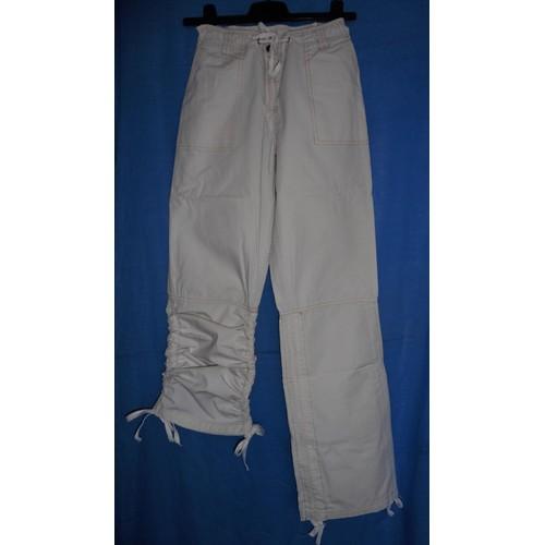 pantalon pantacourt cru h m coton taille 36 38 achat et vente. Black Bedroom Furniture Sets. Home Design Ideas