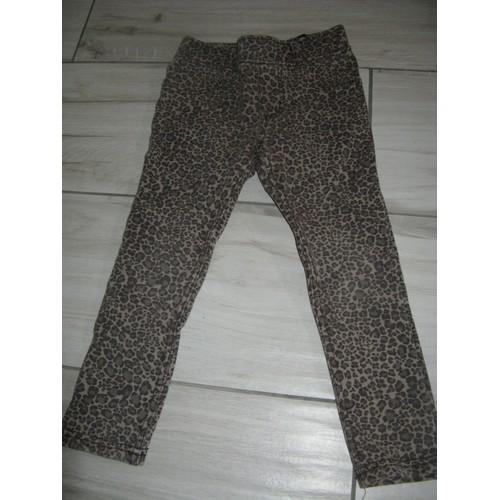 pantalon h m taille elastique coton 3 4 ans multicolore. Black Bedroom Furniture Sets. Home Design Ideas