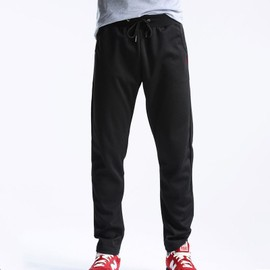 pantalon homme de jogging pantalon droit noir m0835 achat et vente. Black Bedroom Furniture Sets. Home Design Ideas