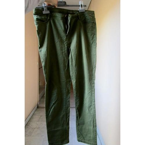 Du Pantalon JeanVert 40taille Proche Réelle KakiTaille Jennyfer LGMVzSjqUp