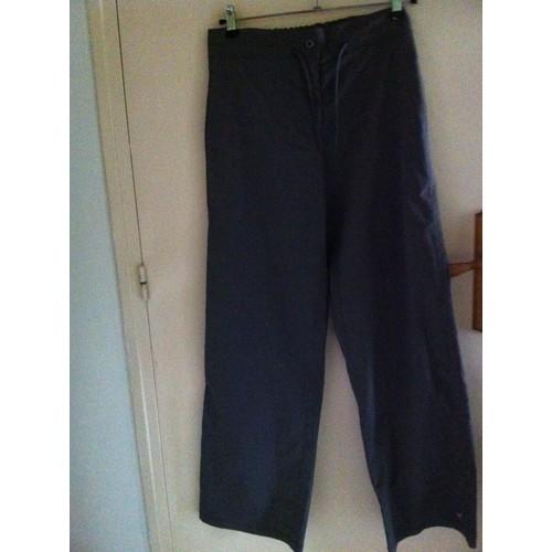 pantalon randonn e d cathlon polyester 38 gris achat et vente. Black Bedroom Furniture Sets. Home Design Ideas
