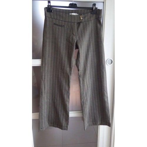 pantalon ray large en bas cache cache achat et vente. Black Bedroom Furniture Sets. Home Design Ideas