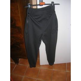 Pantalon Cotés Ans Rivaldi Les Sur Sport Noir Zipé 14 4 Poches Polyester UvUrXq