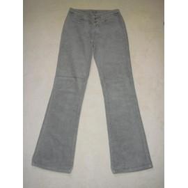 Pantalon Velours Gris Cimarron - 18 Ans