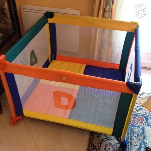 parc b b babybus american collection pas cher priceminister rakuten. Black Bedroom Furniture Sets. Home Design Ideas