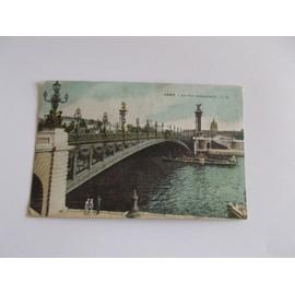 Paris Le Pont Alexandre 3