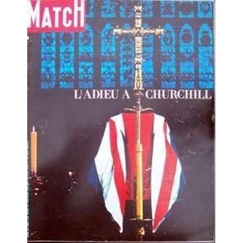 Paris Match N 826 Du 06 02 1965 L Adieu A Churchill E Na Special Funerailles