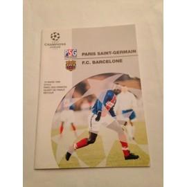 Paris Saint Ghermain -Fc Barcelone Quart De Finale Retour Uefa Champions League Du 15/03/12995