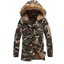 La Décontractée Capuche De Kaki Coton Masculin Manteau Parka Zs300932 Vêtement Mode Camouflage Homme À Camoufler qRHwU0zy