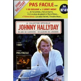 Pas Facile - Johnny Hallyday