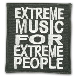 Patch Extreme Music - Psychobilly Punk Rock Rockabilly Hot Rod Metal Gothique Ska Custom Pin Up Tattoo Hardcore Skate Emo Old School Biker Rude Boy Sun Records Lolita Skinhead King Elvis - Pt-121