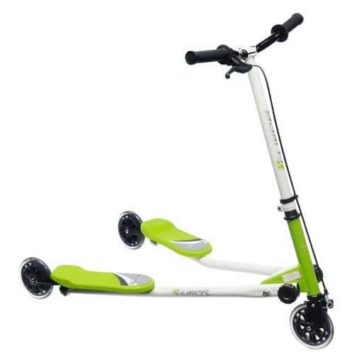 patinette fliker 3 roues enfant vert achat et vente. Black Bedroom Furniture Sets. Home Design Ideas