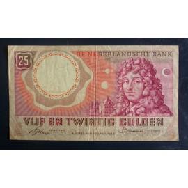 Pays Bas 25 Gulden 1955