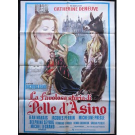 peau d 39 ane jacques demy 1970 100x140 cm affiche de cin ma originale italienne movie. Black Bedroom Furniture Sets. Home Design Ideas