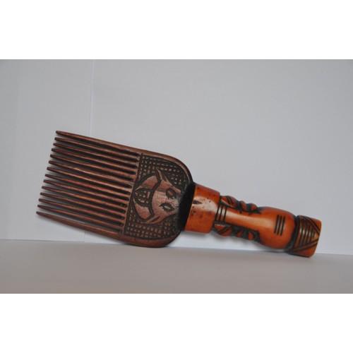 Peigne artisanal en bois africain tchad neuf et d 39 occasion for Fumoir artisanal en bois