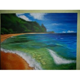 Peinture acrylique sur toile for Peinture acrylique