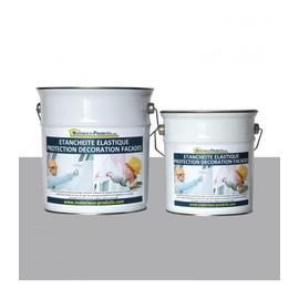 Peinture Etanche Elastique Pour Protection Façade Gris Ciment