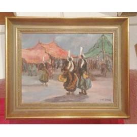 offer buy  peinture sur toile d yves lange