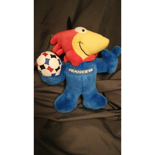 peluche france 98