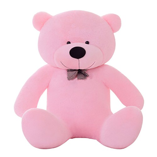 peluche g ante nounours xxl teddybear rose 120 cm achat. Black Bedroom Furniture Sets. Home Design Ideas