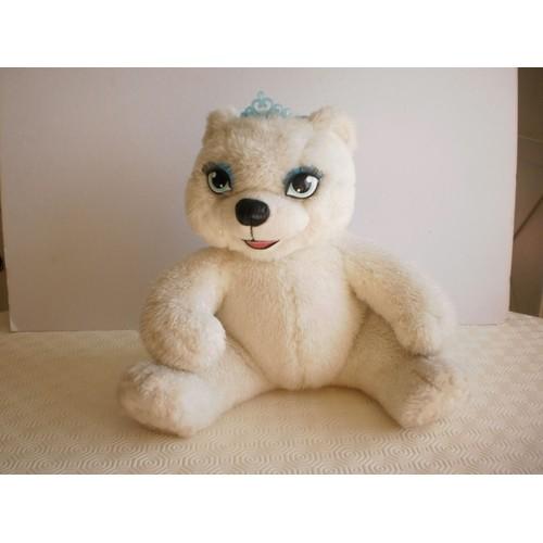 peluche ours polaire blanc - Barbie Et Le Cheval