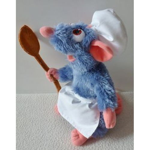 peluche remy disneyland paris rat chef cuisinier ratatouille 23 cm. Black Bedroom Furniture Sets. Home Design Ideas