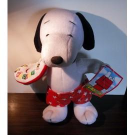 Peluche Snoopy / Bou�e Et Slip De Bain