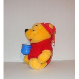 Peluche Winnie L Ourson Avec Son Pot De Miel Veilleuse Mattel Disney