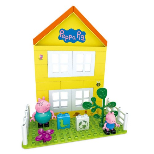 peppa pig la maison de peppa cubes de construction 2017. Black Bedroom Furniture Sets. Home Design Ideas