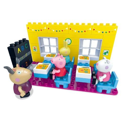 peppa pig salle de classe de peppa jeux ducatifs 2017 hot construire cadeaux jouet cr tif. Black Bedroom Furniture Sets. Home Design Ideas