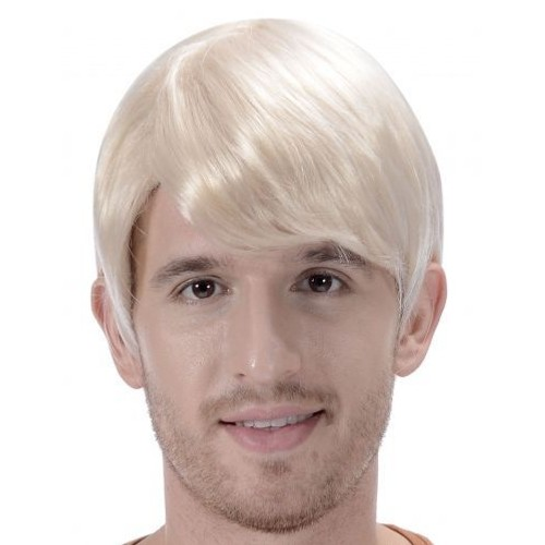Perruque Blonde Courte Homme , - Achat vente
