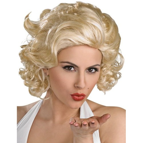 perruque sexy adulte femme blonde marilyn monroe wigs deguisement soiree disco. Black Bedroom Furniture Sets. Home Design Ideas