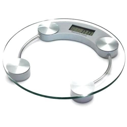 p se personne digital balance grand plateau en verre circulaire capacit de 2 5 150 kg. Black Bedroom Furniture Sets. Home Design Ideas