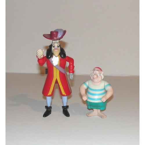 Peter pan figurine capitaine crochet et monsieur mouche - Peter pan et capitaine crochet ...