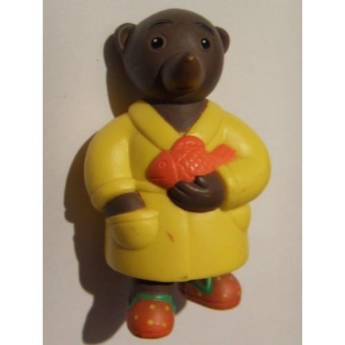 petit ours brun avec poisson rouge achat et vente. Black Bedroom Furniture Sets. Home Design Ideas