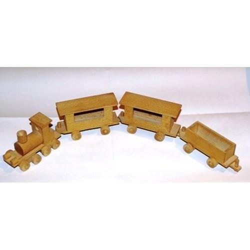 petit train en bois decoratif ou peindre achat et vente. Black Bedroom Furniture Sets. Home Design Ideas