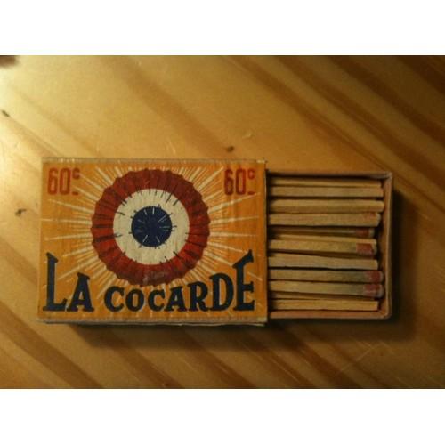 Petite boite d 39 allumettes ancienne la cocarde pleine - Petite boite allumette a personnaliser ...