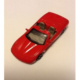 Petite Voiture Corvette Cabriolet Rouge