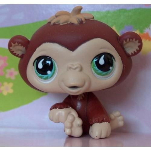 Petshop b b gorille singe brun roux pet shop 529 - Petshop singe ...