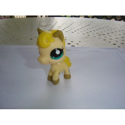Petshop cheval aux yeux verts achat vente de jouet - Cheval petshop ...