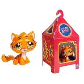 Petshop in dit tigre de chine orange nacr pet shop sp cial nouvel an chinois 2010 - Petshop tigre ...