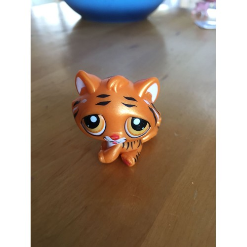 Petshop tigre de chine orange nacr pet shop sp cial nouvel an chinois animaux jouet collection - Petshop tigre ...