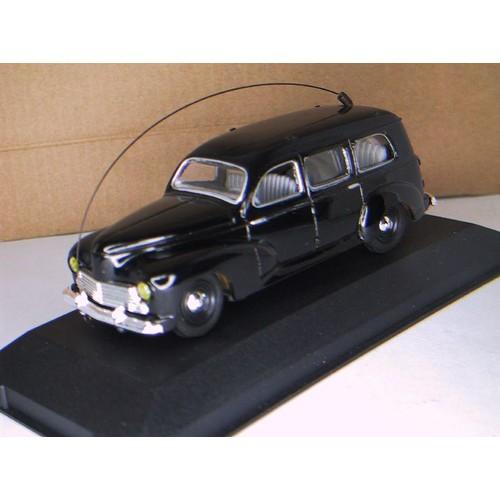 peugeot 203 noire gendarmerie voiture miniature 1 43 eli140111. Black Bedroom Furniture Sets. Home Design Ideas