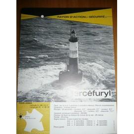 phare armen - publicité pharmaceutique ercefuryl - de 1964 - 616